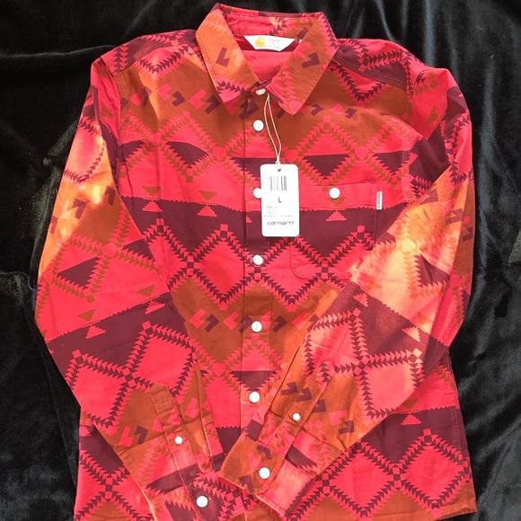 Carhartt Native Print Shirt